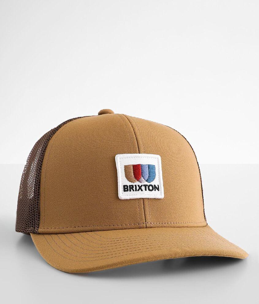 Brixton Alton Trucker Hat front view