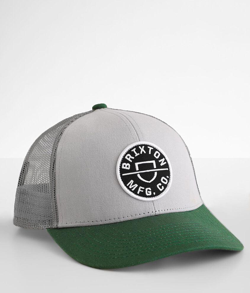 Brixton Crest Crossover Trucker Hat front view