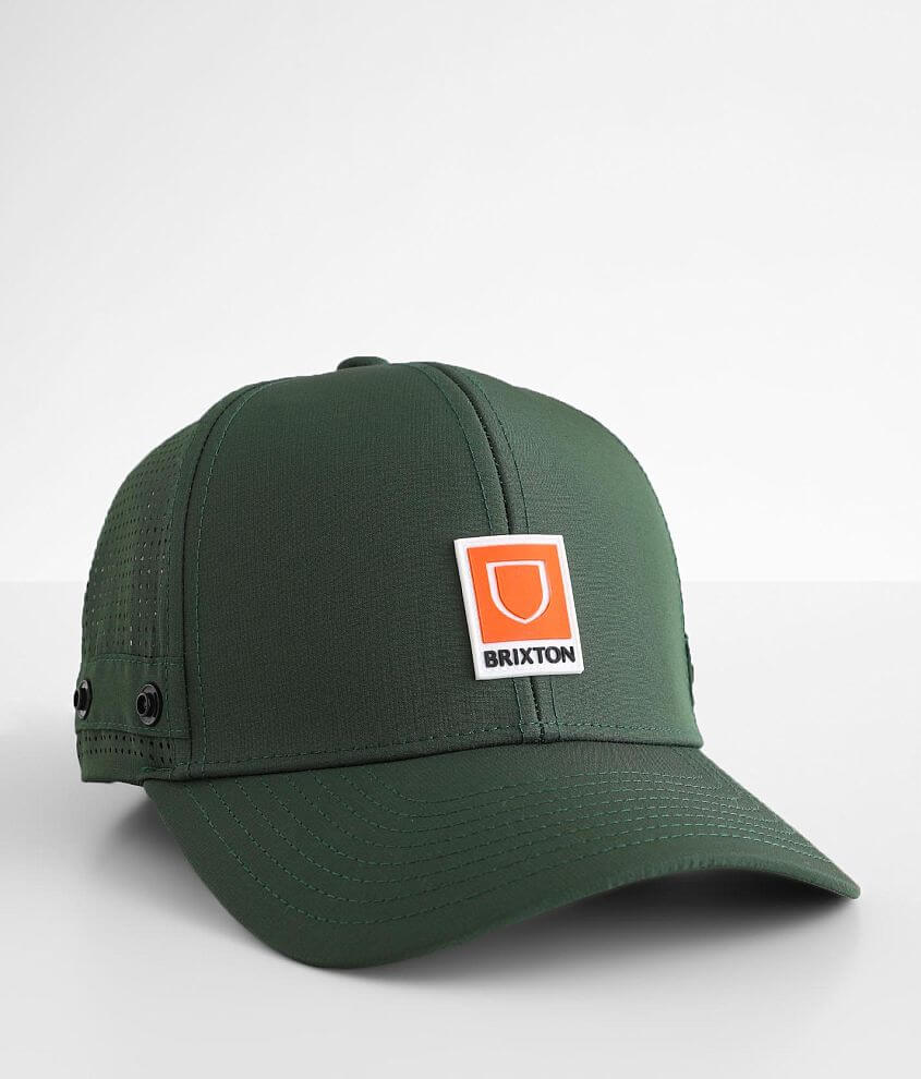 Brixton Beta Crossover Trucker Hat front view