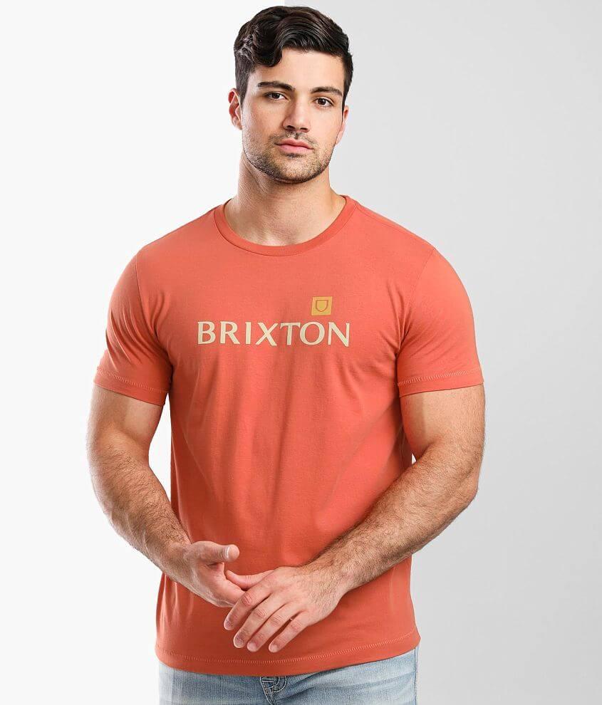 Brixton Alpha Shield T-Shirt front view