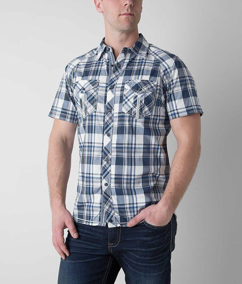 Buckle Black Say Shirt front view