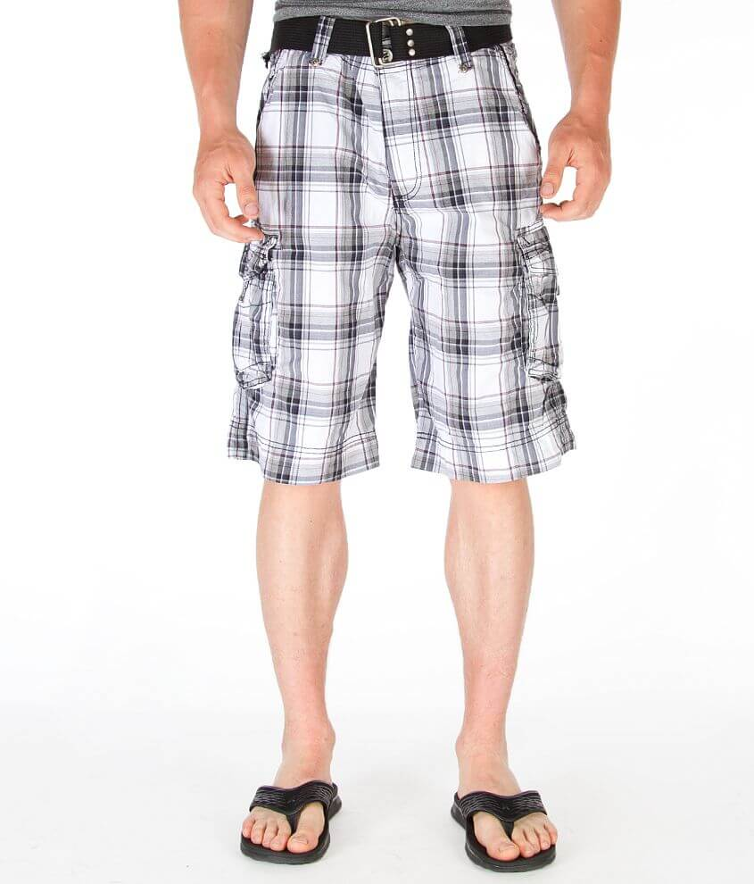 Buckle Black Be Cargo Short front view
