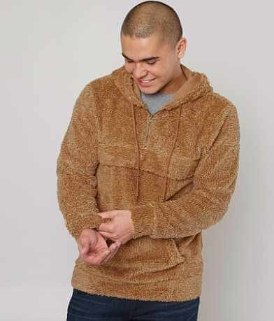 Brooklyn Cloth Sherpa Pullover Jacket