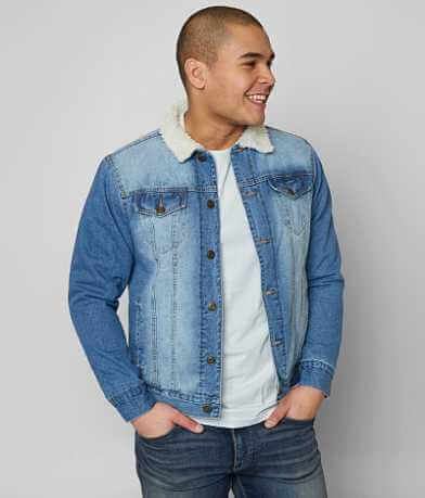 Brooklyn Cloth Sherpa Denim Jacket
