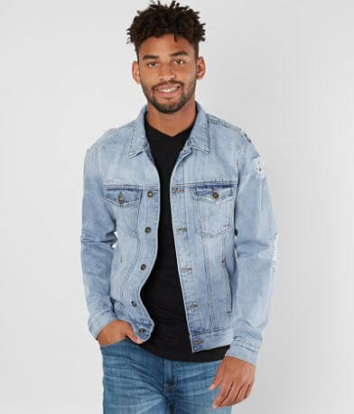 Brooklyn Cloth Distressed Denim Jacket