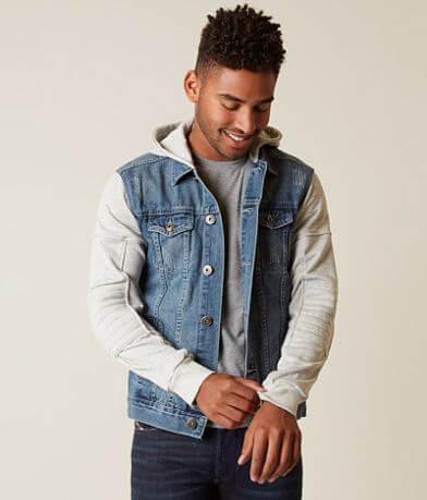 Brooklyn Cloth Hooded Denim Jacket
