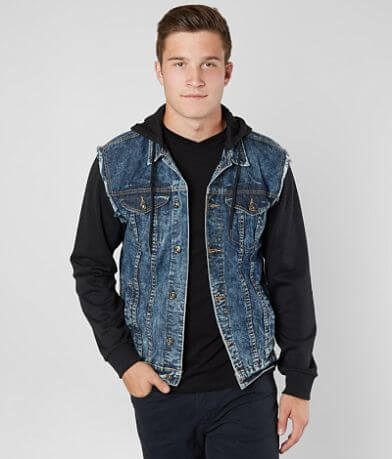 Brooklyn Cloth Acid Washed Trucker Jacket