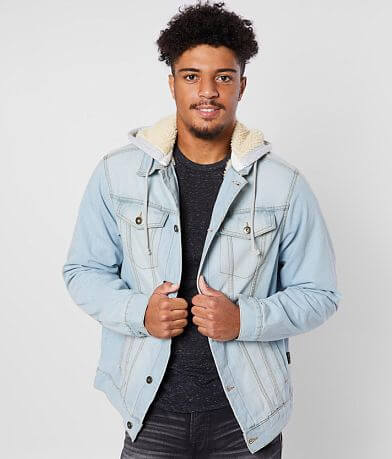 Brooklyn Cloth Hooded Denim Jacket
