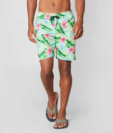 Brooklyn Cloth Leafy Floral Boardshort