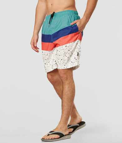 Brooklyn Cloth Paint Splatter Volley Boardshort