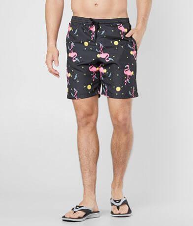 Brooklyn Cloth Geo Flamingo Boardshort