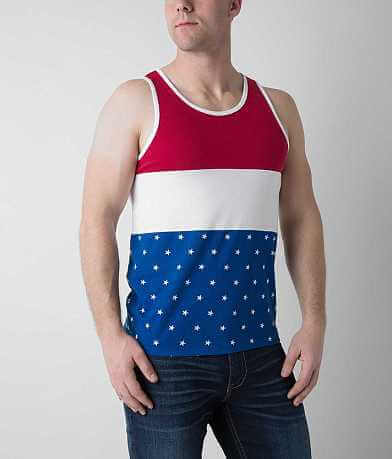 Brooklyn Cloth Pieced Flag Tank Top