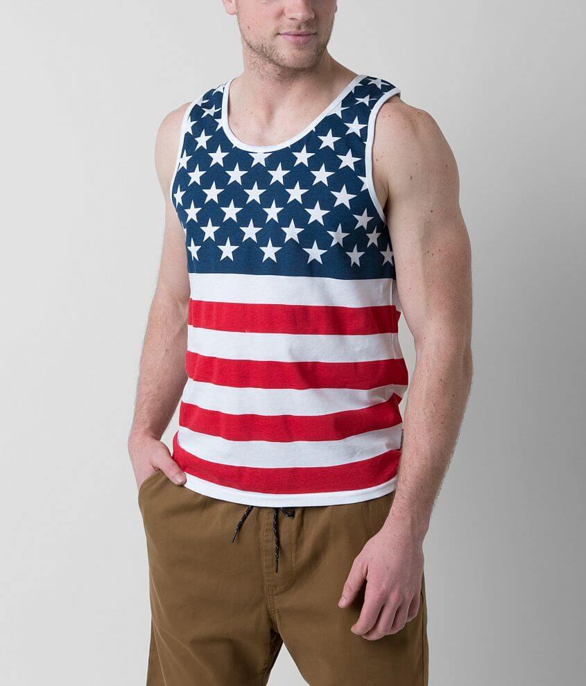 Brooklyn Cloth Americana Tank Top front view