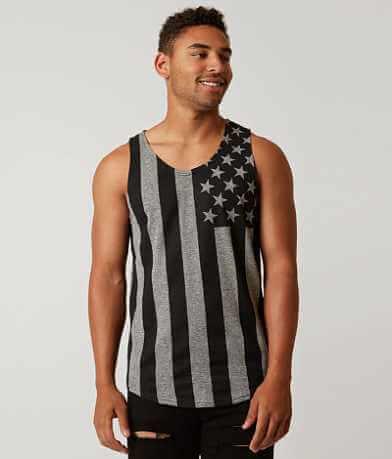 Brooklyn Cloth USA Flag Tank Top
