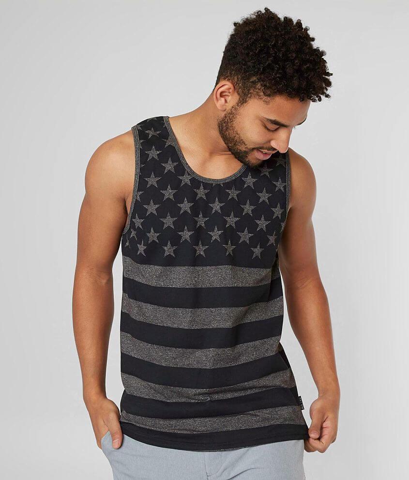 Brooklyn Cloth Stars & Stripes Tank Top front view