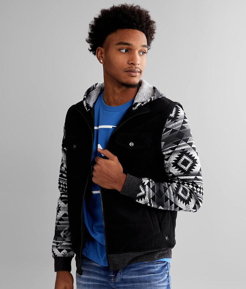 Departwest Southwestern Puffer Jacket front view