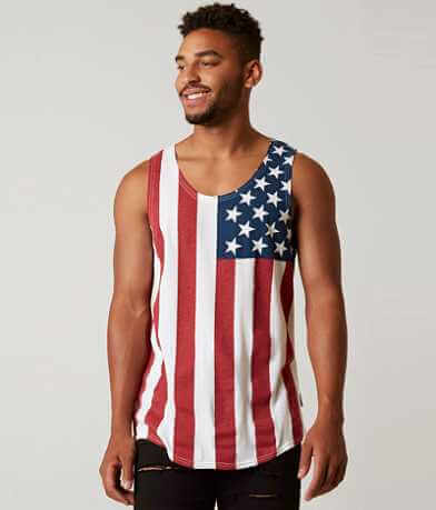 Brooklyn Cloth USA Flag Tank Top