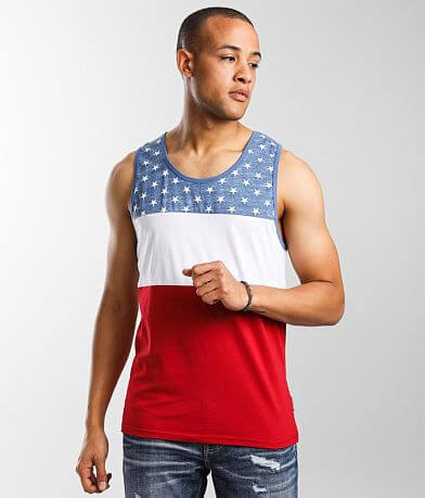 Brooklyn Cloth American Flag Tank Top