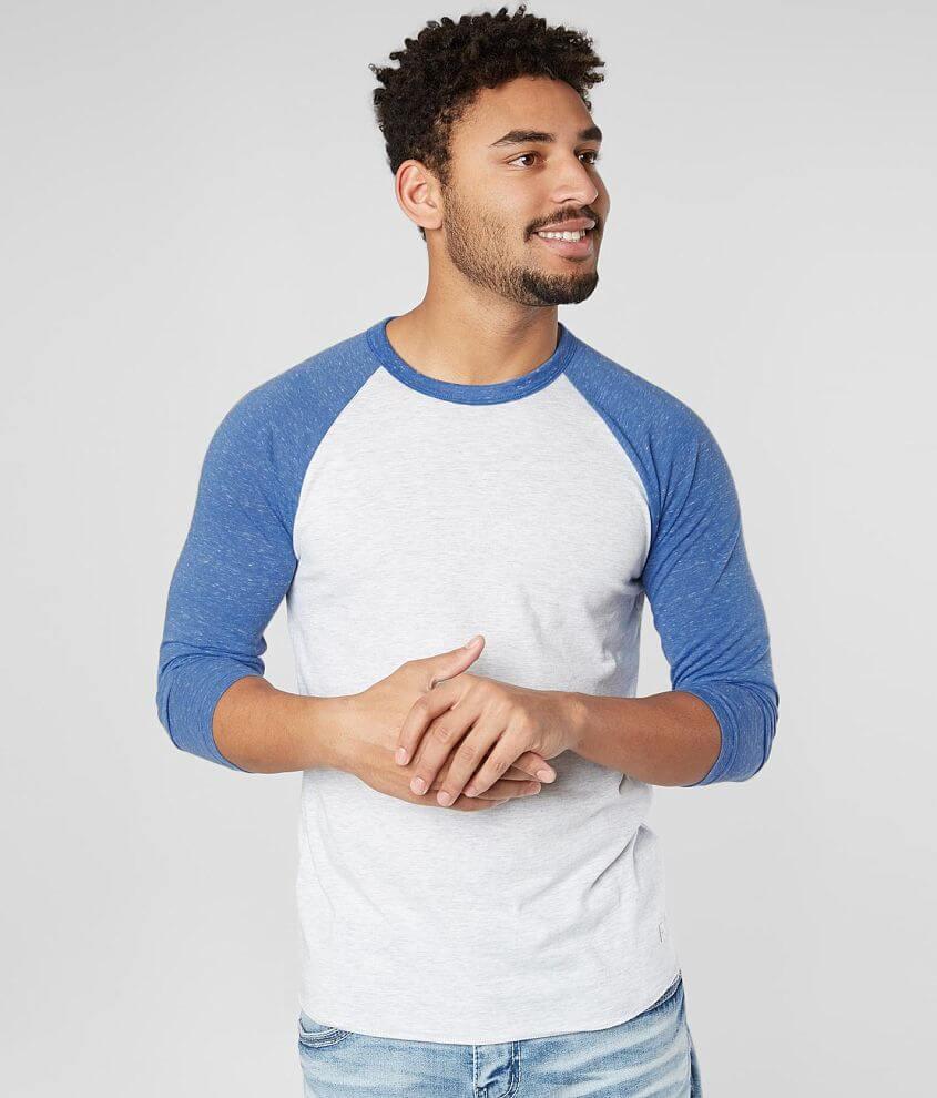 Departwest Basic Raglan T-Shirt front view