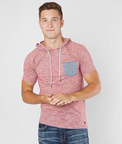 Departwest Streaky Hooded T-Shirt