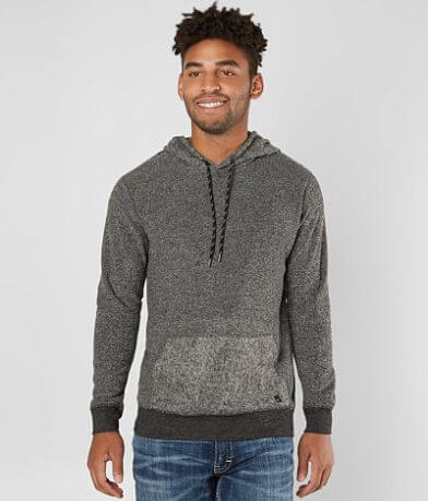 Departwest Looped Marl Hooded Sweatshirt