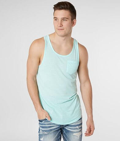 Departwest Mixed Media Tank Top