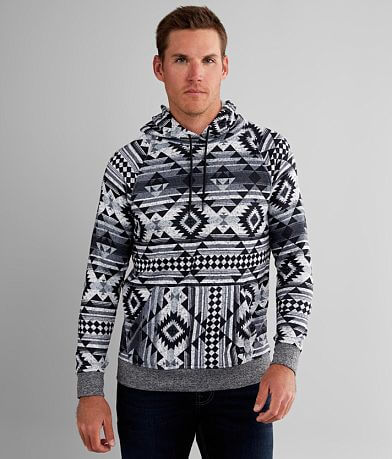 Departwest Cozy Southwestern Hooded Sweatshirt