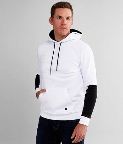 Departwest Color Block Hooded Sweatshirt