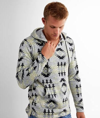 Departwest Cozy Southwestern Hooded Sweatshirt