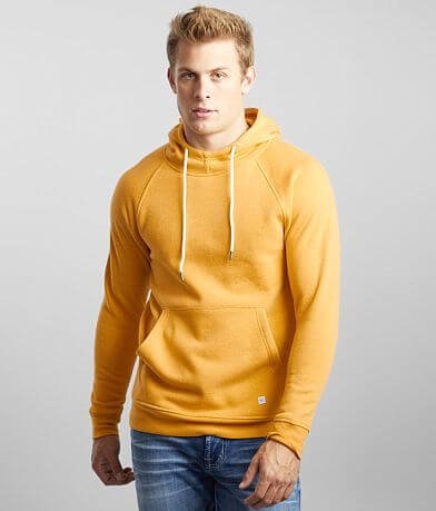 Departwest Heathered Knit Hooded Sweatshirt