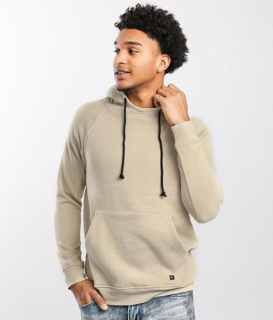 Departwest Mock Neck Hooded Sweatshirt