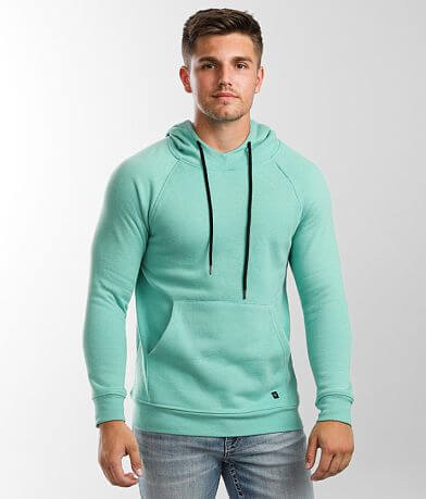 Departwest Mock Neck Hooded Sweatshirt