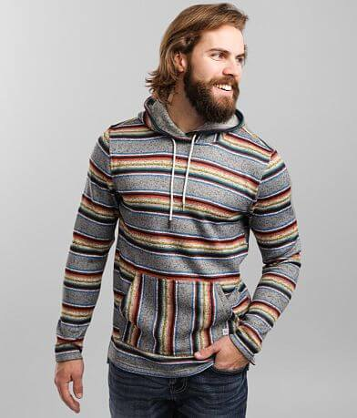 Departwest Sunset Stripe Hooded Sweatshirt
