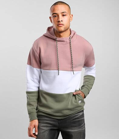 Departwest Color Block Hooded Sweatshirt