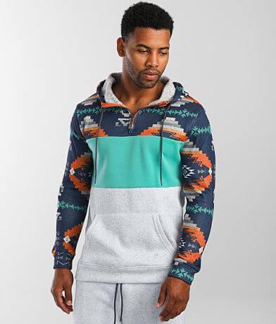 Departwest Cozi Aztec Hooded Sweatshirt