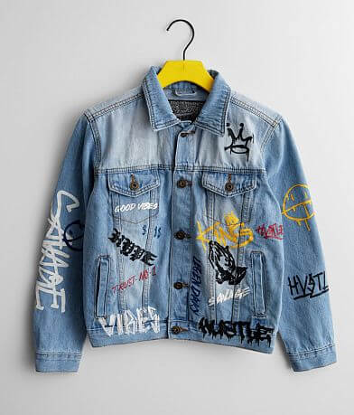 Boys - Brooklyn Cloth Graffiti Denim Jacket