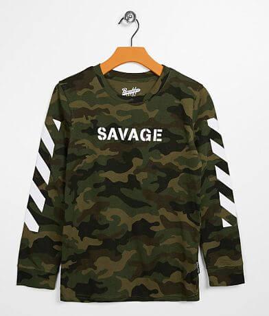 Boys - Brooklyn Cloth Savage Camo T-Shirt