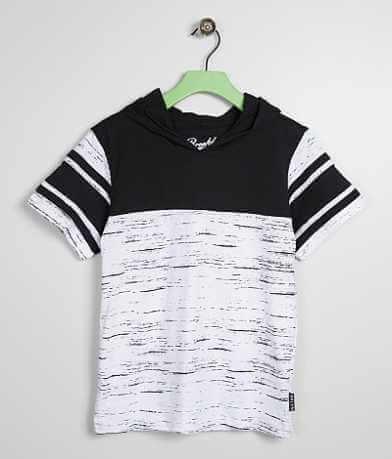 Boys - Brooklyn Cloth Streaky Hooded T-Shirt