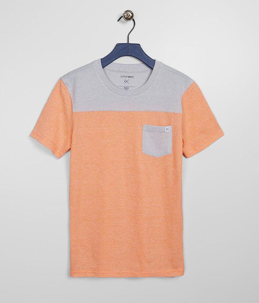 Boys - Departwest Color Block T-Shirt front view