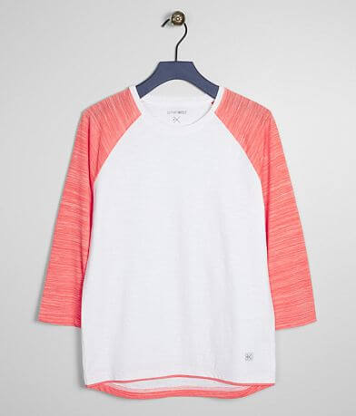 Boys - Departwest Marled Raglan T-Shirt
