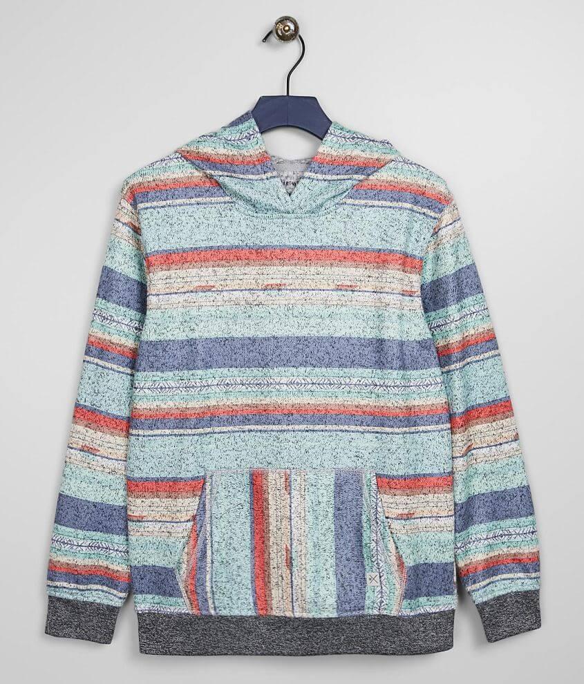 Boys - Departwest Desert Stripe Hooded Sweatshirt front view