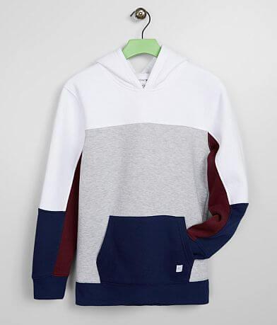 Boys - Departwest Color Block Hooded Sweatshirt