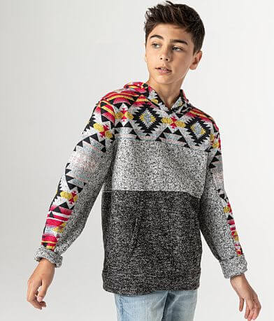 Boys - Departwest Southwestern Hooded Sweatshirt