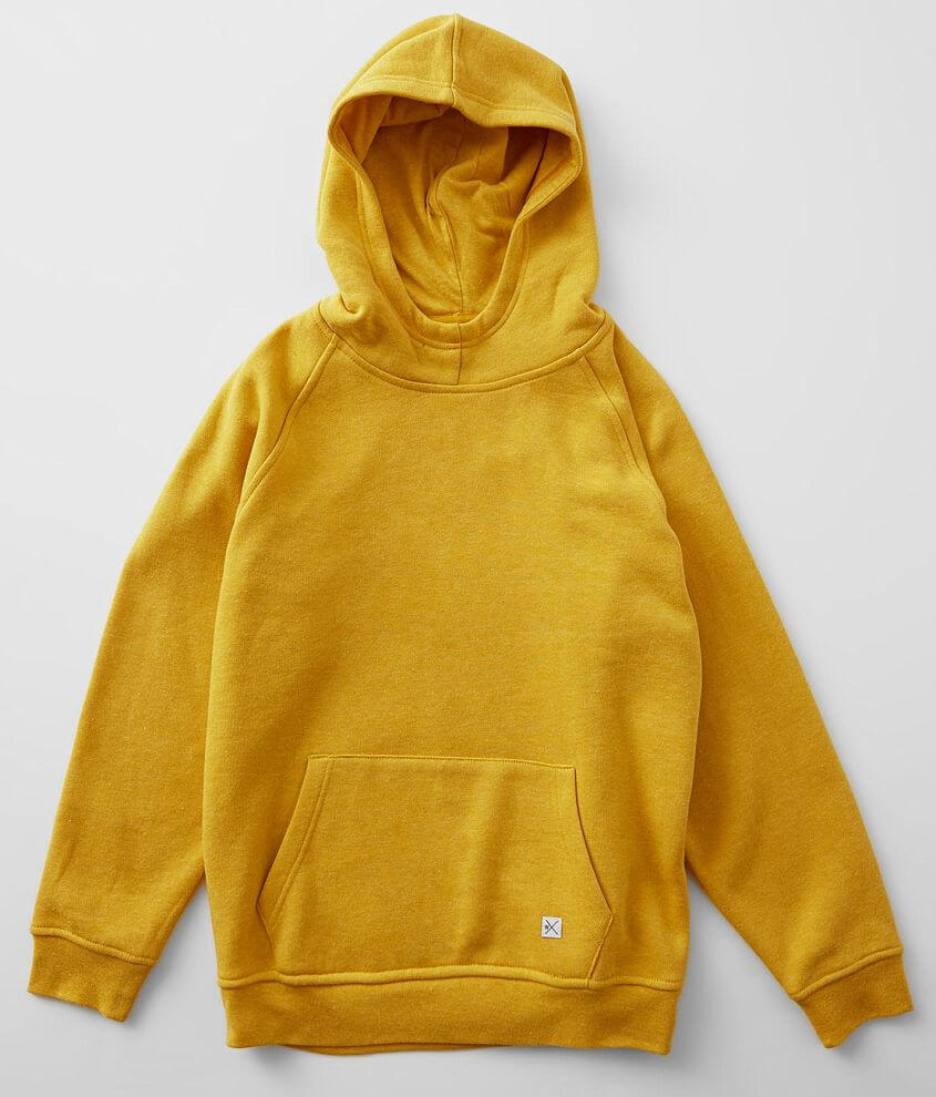 Boys - Departwest Heathered Knit Hooded Sweatshirt front view