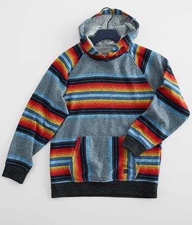 Boys - Departwest Cozy Striped Hoodie
