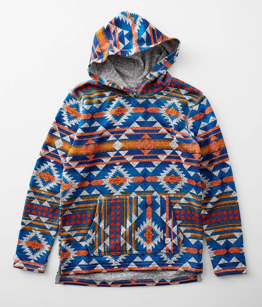 Boys - Departwest Southwest Baja Hooded Sweatshirt front view