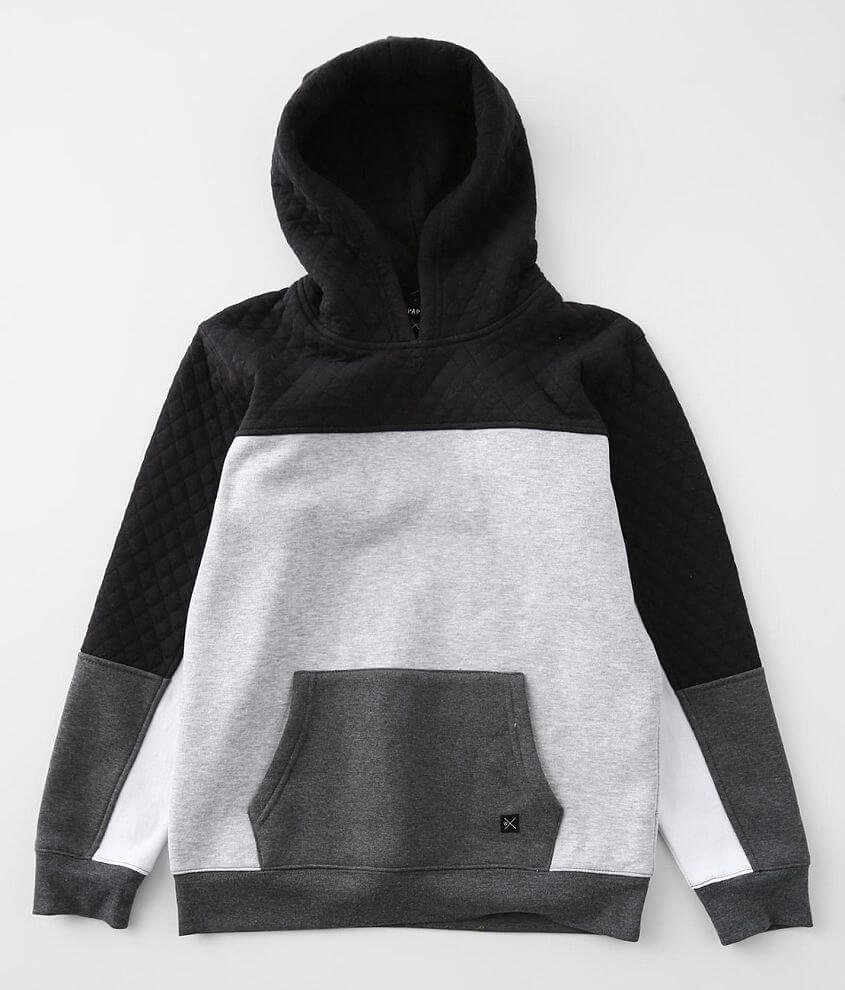 Boys - Departwest Quilted Color Block Sweatshirt front view