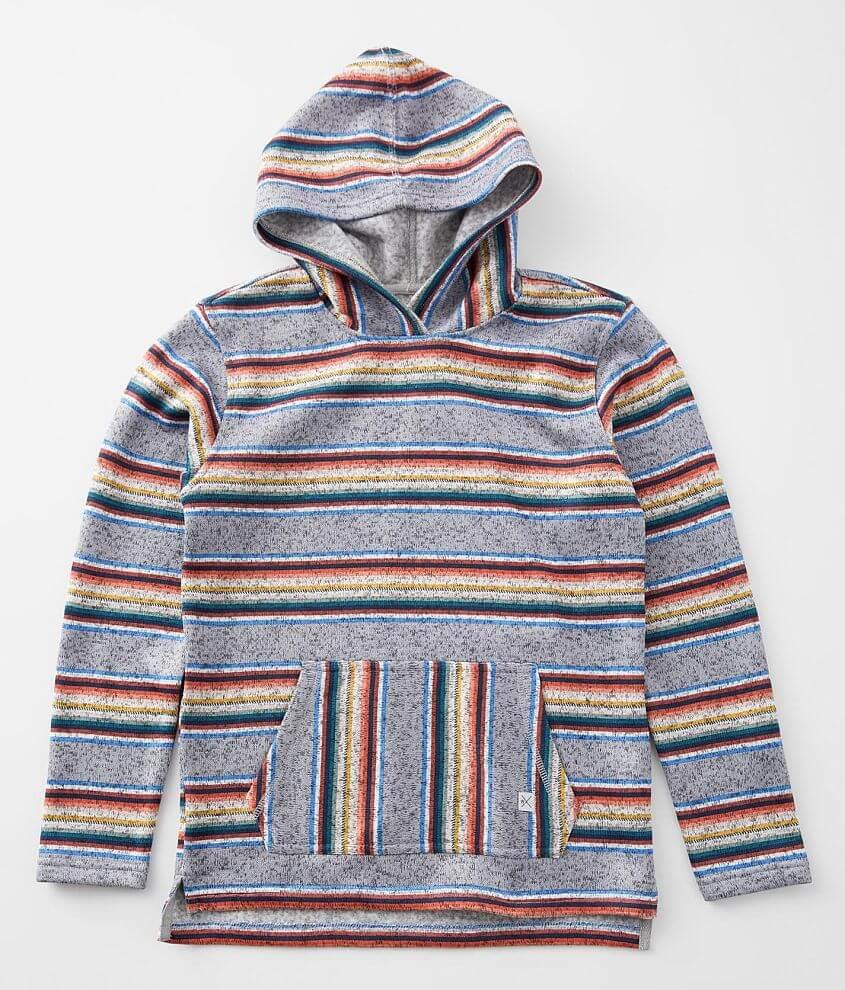 Boys - Departwest Sunset Stripe Cozy Sweatshirt front view