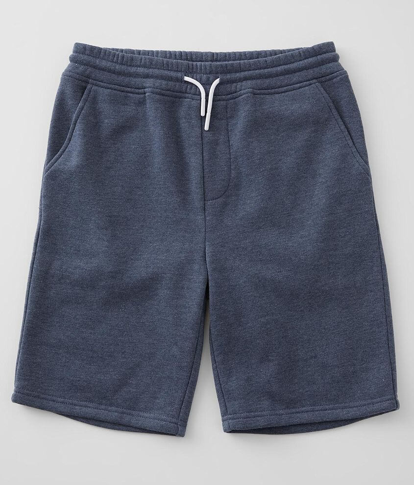 Boys - Departwest Heathered Stretch Short front view