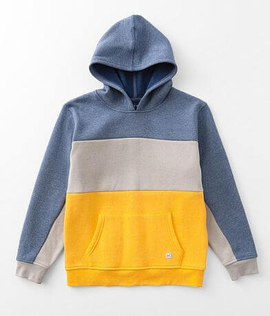 Boys - Departwest Color Block Hooded Sweatshirt